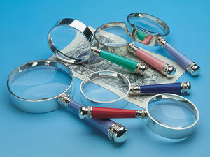 Coloured Magnifying Glasses