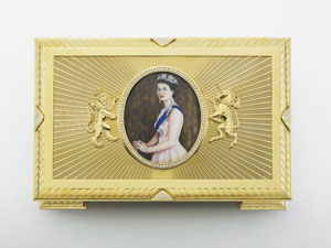 Diamond Jubilee Casket