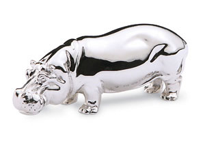 Hippo Paperweight