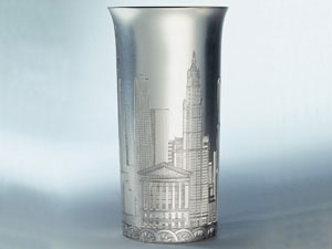 New York Skyline Beaker