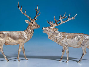 Pair of Stags
