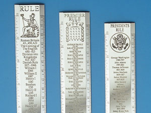 Silver Rulers