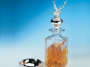 Stag Head Decanter