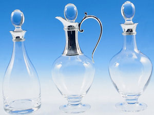 Two Decanters and Jug